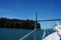Sailing off Stanley Park (1) - 2016-08-23 (4nitsirk) Tags: vancouver 365 sailing stanleypark