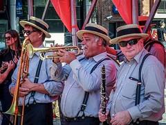 POTD: Oak city jazz band @ Youtopia event, Leuven (janmennens) Tags: street music instruments potd oakcityjazz 3000 leuven