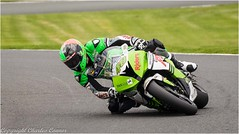 At Full Lean (cconnor124) Tags: england unitedkingdom gb oultonpark cheshire motorbikes motorbikeracing racing speed panning panningshots canon100400lens canon7dmk11 blur backgroundblur