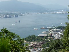 Miyajima ferries (Stop carbon pollution) Tags: japan  honshuu  hiroshimaken  miyajima
