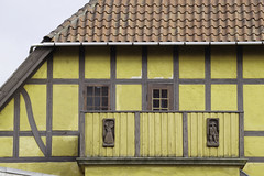 Part of on old house (henrikpedersen33) Tags: house timbered