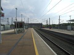 The country end of Ebbsfleet International Station. (DesiroDan) Tags: highspeed1 ebbsfleetinternationalstation eurostar southeasternhighspeed southeastern railwaystationsintheuk