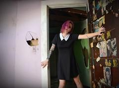 Last Chance (Byrds Eye Photography) Tags: portrait model girl abandoned art alternative tattoos beauty cute female