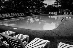 Untitled (Howard Yang Photography) Tags: swimmingpool pool bw blackandwhite cottagecountry ontario ricohgr