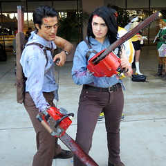 Ash Couple (Kelson) Tags: cosplay longbeachcomiccon lbcc2016 comic con ash evildead chainsaw