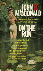 Novel-On-The-Run-by-John-D-MacDonald (Count_Strad) Tags: novel cover art coverart book western scifi wwii