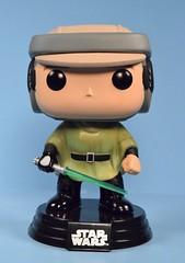 Funko Pop! Luke Skywalker [Endor] bobble-head (FranMoff) Tags: starwars endor funkopop lukeskywalker funko lightsaber bobbleheads