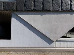 concrete dream (Rasande Tyskar) Tags: city nord hamburg germany schatten shadow cast beton concrete buildings architecture architektur stadt block fassade wall