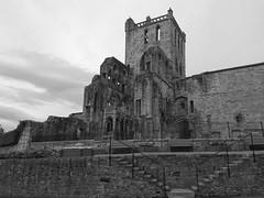 Jedburgh Abbey B&W (Charlie Little) Tags: bw scotland abbey jedburgh
