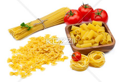 pasta ingredients (alexfood8877) Tags: food dinner tomato italian raw wheat meals grain bowtie vegetable pasta delicious noodles carbohydrate accessories dried spaghetti parsley edible garnish rigatoni fettuccine starch farfalle