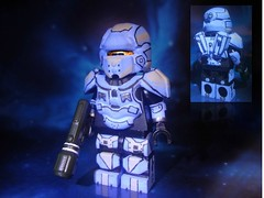 "Halo 4 - Spartan IV ""Warrior"" (MGF Customs/Reviews) Tags: lego infinity chief 4 halo master warrior requiem iv spartan cortana unsc prometheans"