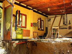 October flood hits Italian Cinque Terre (Bn) Tags: street people building work living workers october flooding ramp floor mud flood buried room debris volunteers away unesco cleaning dirt solidarity repair disaster terre rainstorm nightmare washed horrible vernazza healing destroyed rainfall recovery severe residents flashflooding 2011 devastating landslides loacl mudangels cinqie