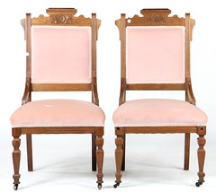 56. Pair of Victorian Side Chairs
