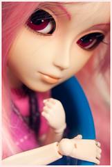 Feliz 2 años~ <3! (mymuffin_15) Tags: birthday pink dal william chips wig pullip custom mian isul obitsu taeyang stica