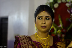 The bride (ria_and_her_eye) Tags: wedding portrait woman beautiful lady bride marriage reception kolkata ria bengali weddingphotography bengaliwedding canon50mmf18lens riadas canoneos550d