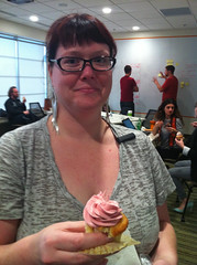 Cupcake break (adactio) Tags: wisconsin cupcake madison workshop shopbop adactio:post=5813
