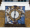 The Four Seasons Clock (Tim NW) Tags: somerstown gilbertbayes doultonware sidneyestate