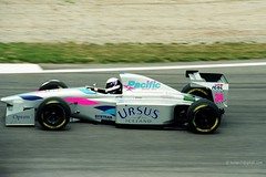 1994 GP F1 Spain Montmeló. Pacific Ilmor PR01 Bertrand Gachot 8Ae (antarc foto) Tags: pacific ilmor pr01 bertrand gachot 1994 gp formula spain circuit de catalunya montmeló grand prix f1 formulaone formula1 barcelona barcelone