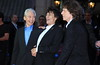 Charlie Watts, Ronnie Wood, and Mick Jagger 56th BFI London Film Festival - 'The Rolling Stones: Crossfire Hurricane' - Gala Screening - Arrivals London, England
