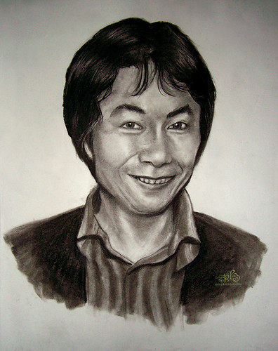 Shigeru Miyamoto, obra de pikminlink