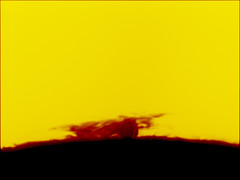 Sun_2012-10-19_12-37_UT (Admiral_M) Tags: sun halpha prominence ls60tha