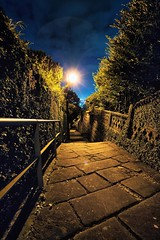 Night Alley of Nagasaki (chibitomu) Tags: city light japan night canon eos alley  nagasaki    canonef1740f4lusm 5dmarkii nagasakishi chibitomu