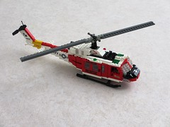 "NAS Fallon ""Longhorns"" HH-1N Iroquois (1) (Mad physicist) Tags: lego bell huey helicopter usnavy uh1 hh1n"