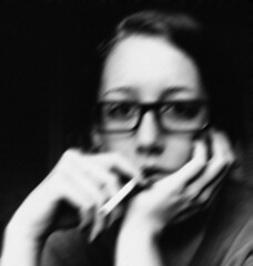 (Amber-Thomas) Tags: selfportrait glasses cigarette