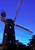 the fully restored 1905 murphy windmill (pbo31) Tags: sanfrancisco goldengatepark park blue panorama color windmill nikon october large panoramic shore oceanbeach bluehour stitched murphy 2012 1905 d700