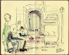 261012007 (julietteplisson) Tags: paris watercolor sketch aquarelle montmartre sacrécoeur croquis