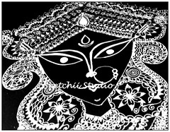 . (Sketchii Studio) Tags: art yoga pencil ma temple sketch ganesha god lakshmi buddha kali indian goddess ganesh meditating pooja diwali shiva krishna puja gopal radha durga bal lal maa diya kanha laxmi natraj kaali ladoo bhagwaan lineabstract kanhayia budhameditation