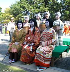 Ryoka, Kanoyumi, Fukuharu (CLF) Tags: kyoto maiko  gion matsuri higashi jidai  ryoka  kanoyumi   fukuharu