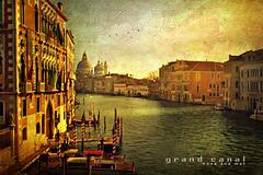Venecia.....mi sueo hecho realidad...... (nanettesol) Tags: light sunset texture atardecer canal mat gran gondola venecia brigde rialto