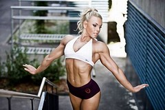 Sexy Fitness And Muscular Girls (bbandfitnesspic) Tags: girls hot women body muscular fat bodybuilding health diet shape fitness gym abs