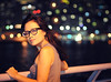 It often seems to me that the night is much more alive and richly colored than the day. (joyful JOY) Tags: portrait woman selfportrait asian 50mm bokeh pinay d300 ilovebokeh colorfulbokeh lamppostlighting vincentvangoghnightvision
