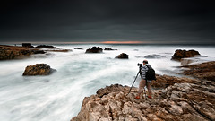 Is Back ! (CResende) Tags: ocean portrait seascape portugal back waves photographer action clounds landscaper rolhas cresende