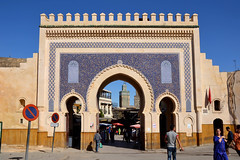 This earth I rise from (6) (Luca Terracciano) Tags: gate islam unesco worldheritagesite morocco fez marocco medina fes bluegate babboujeloud feselbali boujeloud elbali  faselbali
