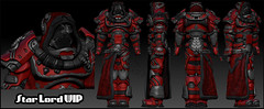 CS_StarLord_WIP (Lucia Cyr) Tags: life red black star wip lord armor second lucia cyr losthaven