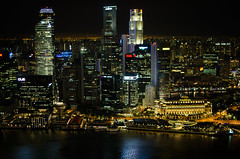 Singapore - Marina Bay Sands city vew (nailmyfear) Tags: singapore sameer karthik cityview sukrutha samyukta marinabaysands