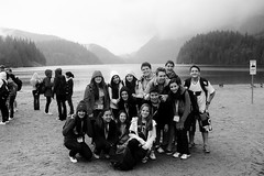 (gi campos :3) Tags: trip friends summer camp blackandwhite canada cold love beach fog vancouver perfect wind miss