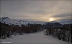 Coucher de soleil de janvier
