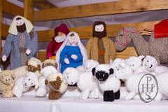 Knitivity or Knitted Nativity at St John The Baptist Church Dodworth (113) (PHH Sykes) Tags: church saint st john baptist knitted figures nativity the dodworth knitivity