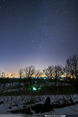 Winter Milky Way (kevin-palmer) Tags: winter light sky snow cold wisconsin night dark way stars evening january astrophotography pollution astronomy milky palmyra pentaxkx kettlemorainestateforest samyang baldbluff Astrometrydotnet:status=failed bower14mmf28 Astrometrydotnet:id=alpha20130198043437