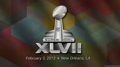 2013 Super Bowl XLVII Logo by RMTip21, on Flickr