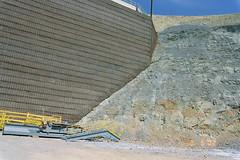 Truck Dump (HRW 1902) Tags: utah www mining saltlakecounty weldedwirewall wwwabuttingrock