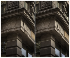 Cast Iron (-ytf-) Tags: nyc newyorkcity 3d guesswherenyc stereo nycguessed crossview ytf ytfnyc dougdguessed