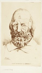 "Jean Laurent, ""Caricatura de Giuseppe Garibaldi"" (carte de visite, 1860) (Museo del Romanticismo) Tags: jean museo historia laurent xix fotografa siglo romanticismo"