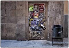 Barcelona Crisix (chabish123) Tags: barcelona fuji posters nik lightroom colorefexpro xpro2