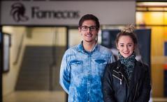 Entrevista com Guto Gaelzer e Rafaela Keunecke (eusoufamecos) Tags: entrevista moda guto gaelzer rafaela keunecke young lust la jolla fashion film festival