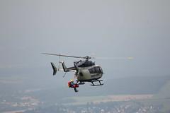 Rettungshubschrauber am Pferdskopf / Wasserkuppe 160814_113 (jimcnb) Tags: 2016 august wasserkuppe rhn hessen hubschrauber polizei helicopter dhheb